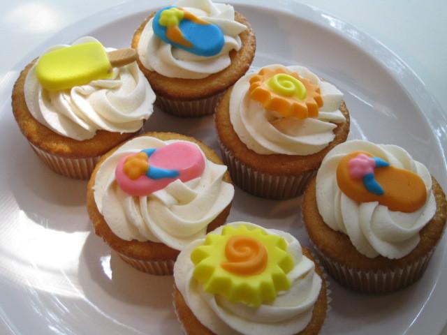 Summer Cupcakes Recipe  Summer Fun Cupcakes