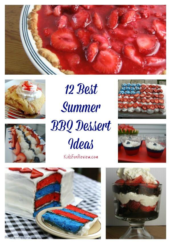 Summer Desserts For Bbq  12 Best Summer BBQ Dessert Ideas The Kid s Fun Review