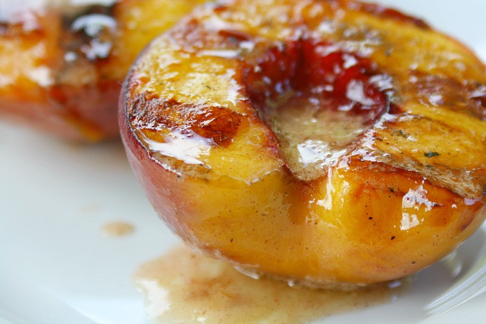 Summer Desserts For Bbq  Grilled Peaches Cinnamon Honey Butter Summer Desserts