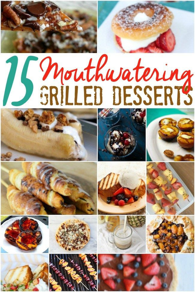 Summer Desserts For Bbq  15 Grilled Desserts Perfect for Summer