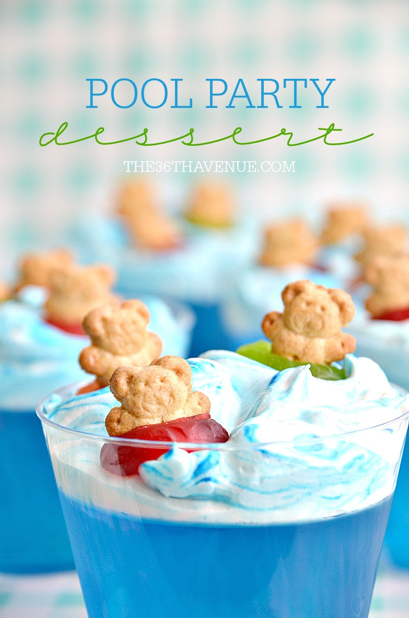 Summer Desserts For Parties  Summer Dessert Pool Party Ideas The 36th AVENUE