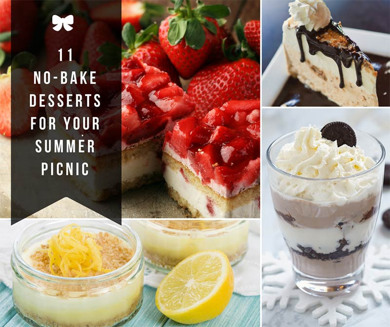 Summer Desserts For Picnics  11 No Bake Desserts for Your Summer Picnic Home and