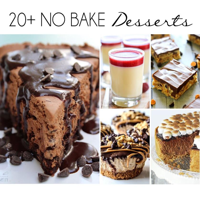 Summer Desserts No Bake  20 No Bake Desserts for Summer