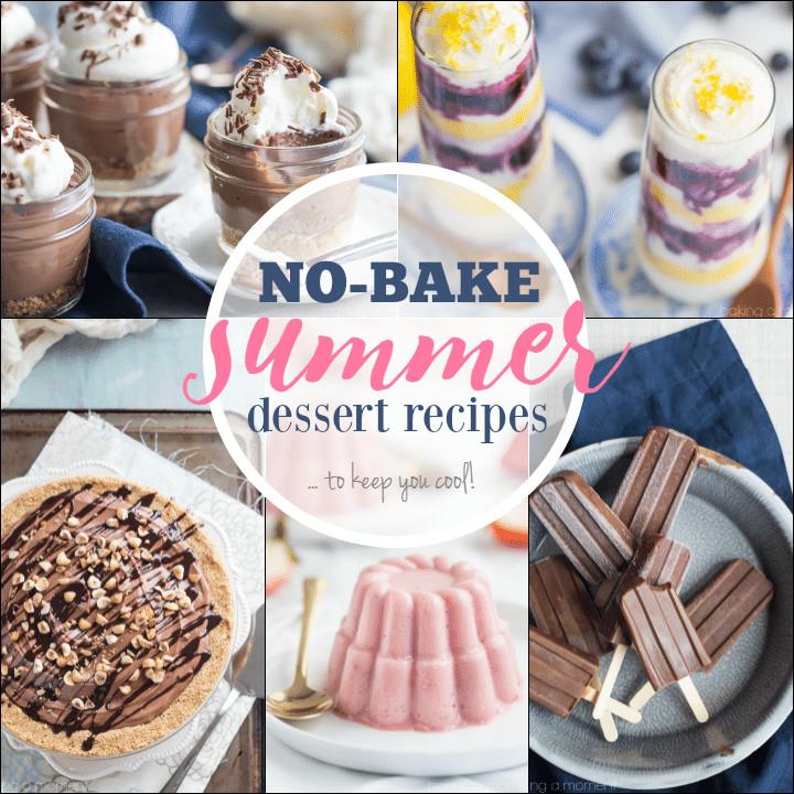 Summer Desserts No Bake  No Bake Summer Dessert Recipes Baking A Moment