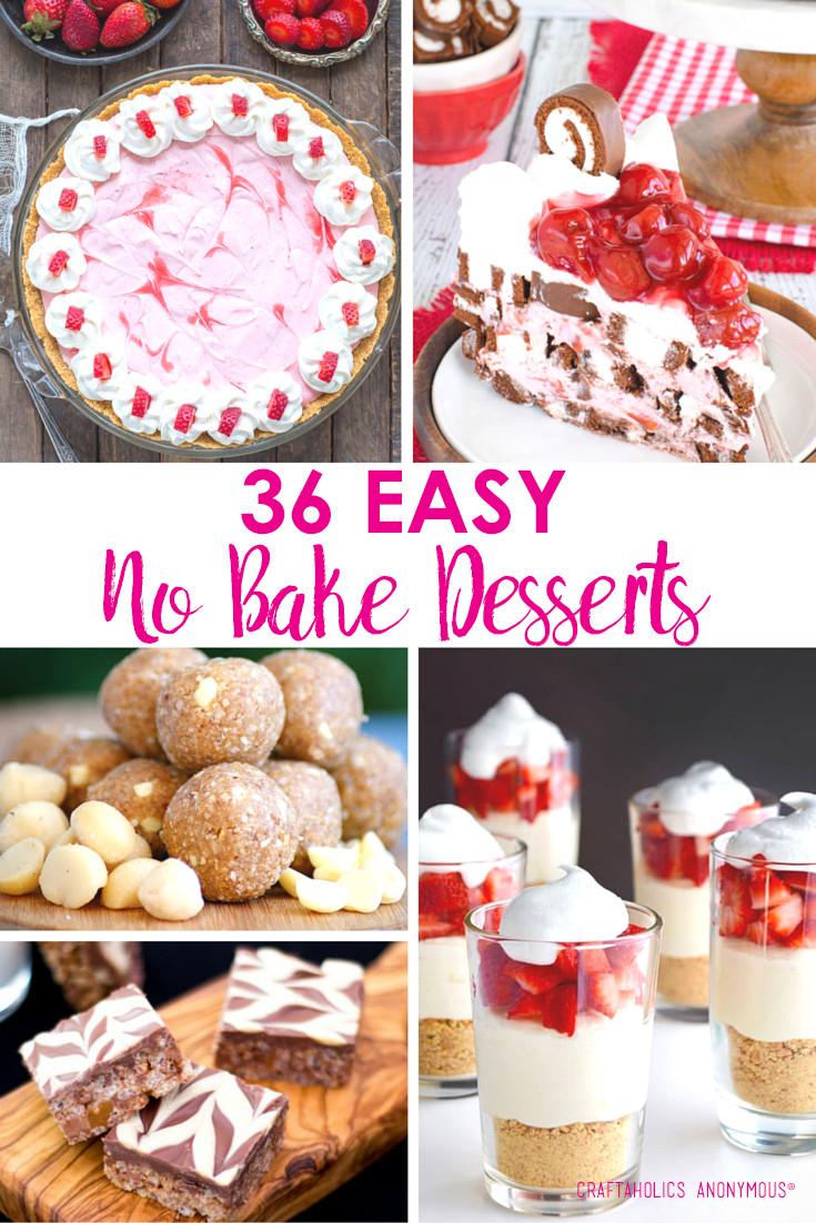Summer Desserts No Bake  Craftaholics Anonymous