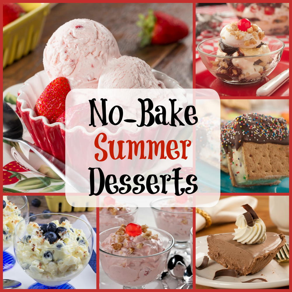 Summer Desserts No Bake  Easy Summer Recipes 6 No Bake Desserts
