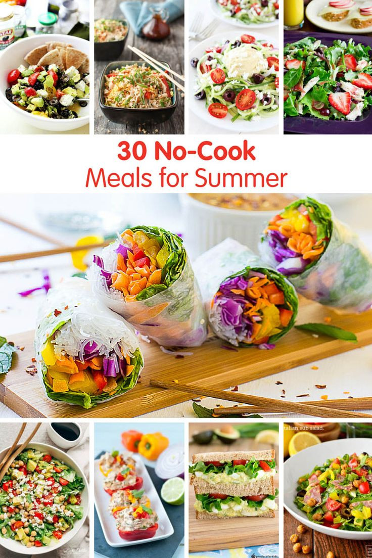 Summer Dinner Ideas Hot Days  1000 images about Easy Weeknight Dinners on Pinterest