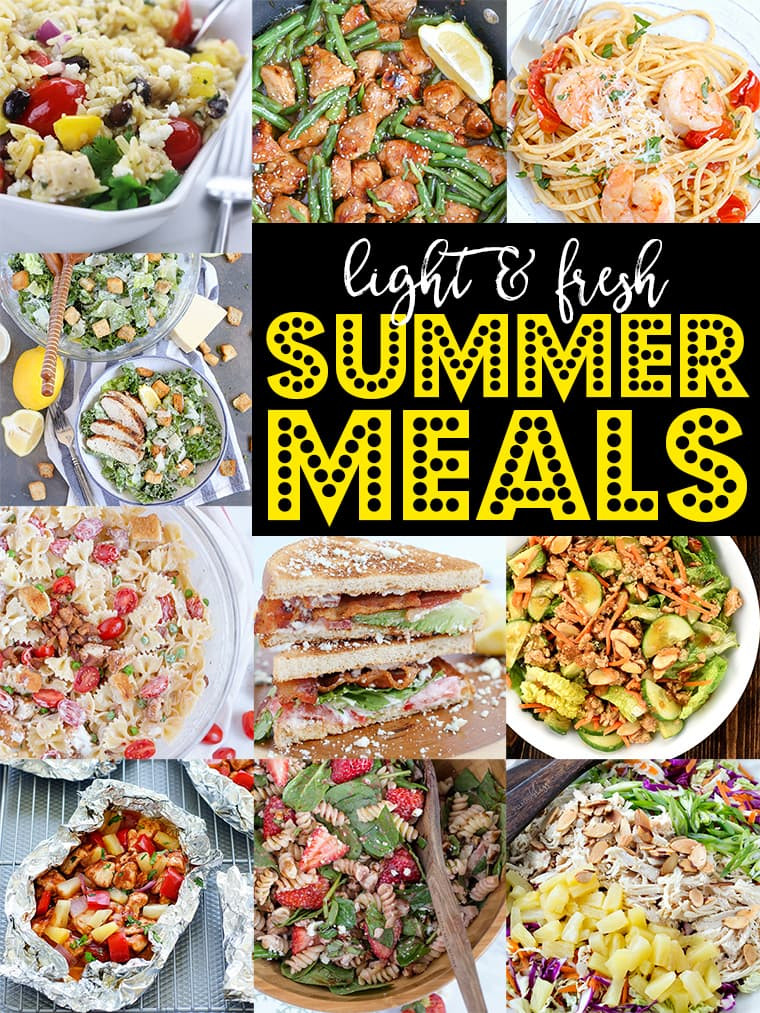 Summer Dinner Ideas Hot Days  27 Light and Fresh Summer Meals Perfect for Al Fresco Dining