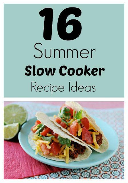 Summer Dinner Ideas Hot Days  17 Best images about Crockpot Meals on Pinterest