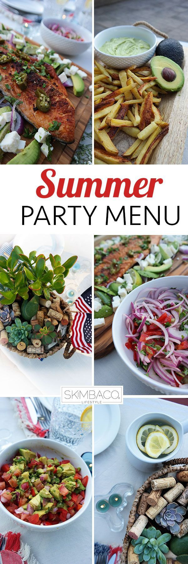 Summer Dinner Menu  17 Best images about The Ultimate 4th of July on Pinterest