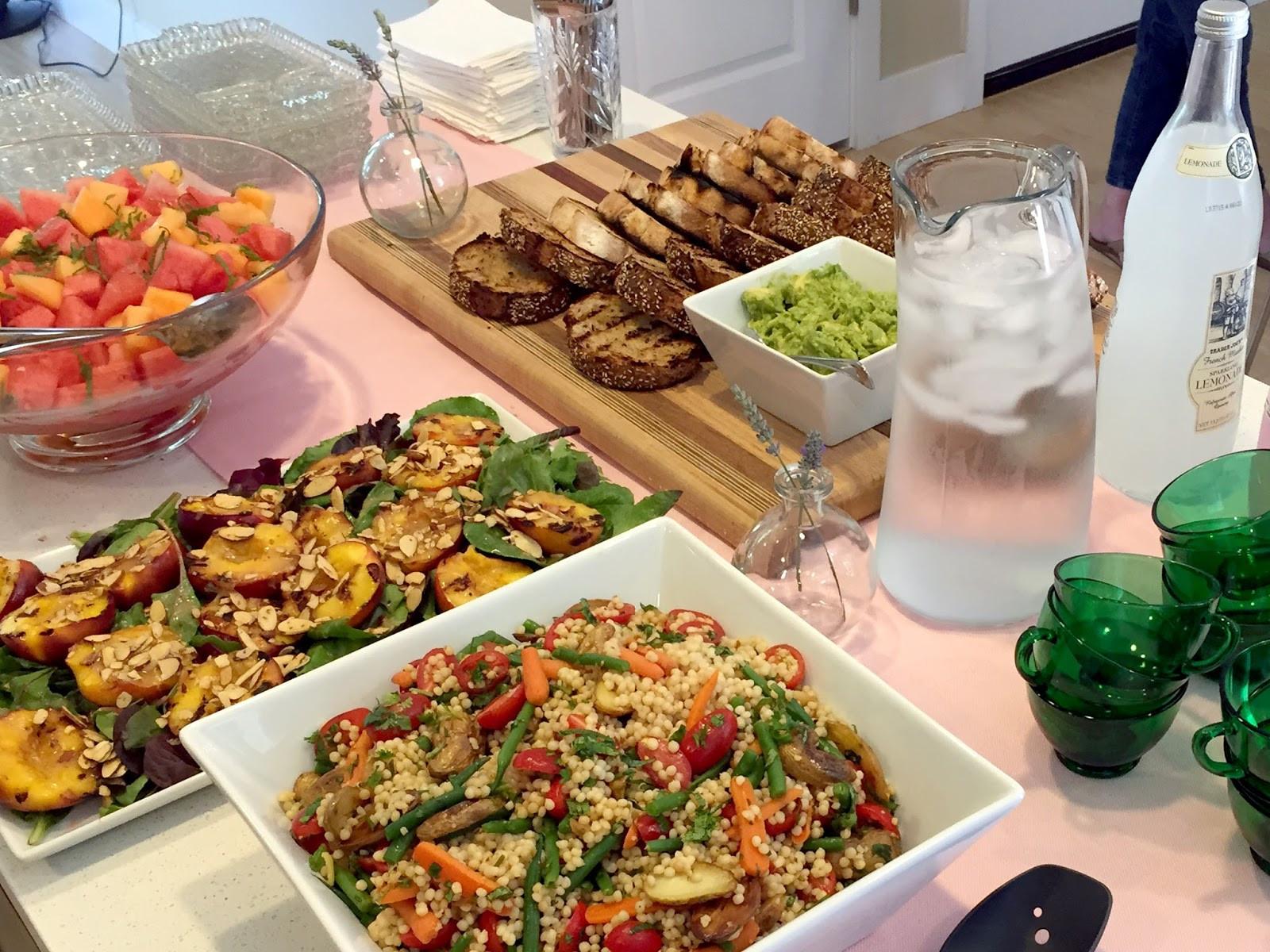 Summer Dinner Menu  Download Summer Dinner Party Menu Ideas