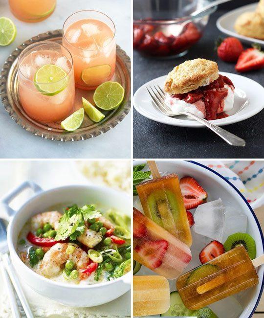 Summer Dinner Menus  Summer Dinner Menu Ideas — Eatwell101