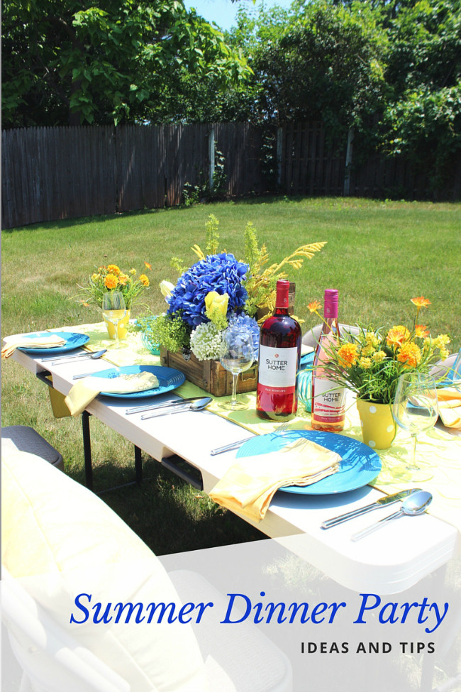 Summer Dinner Parties  Summer Dinner Party Ideas and Tips Afropolitan Mom