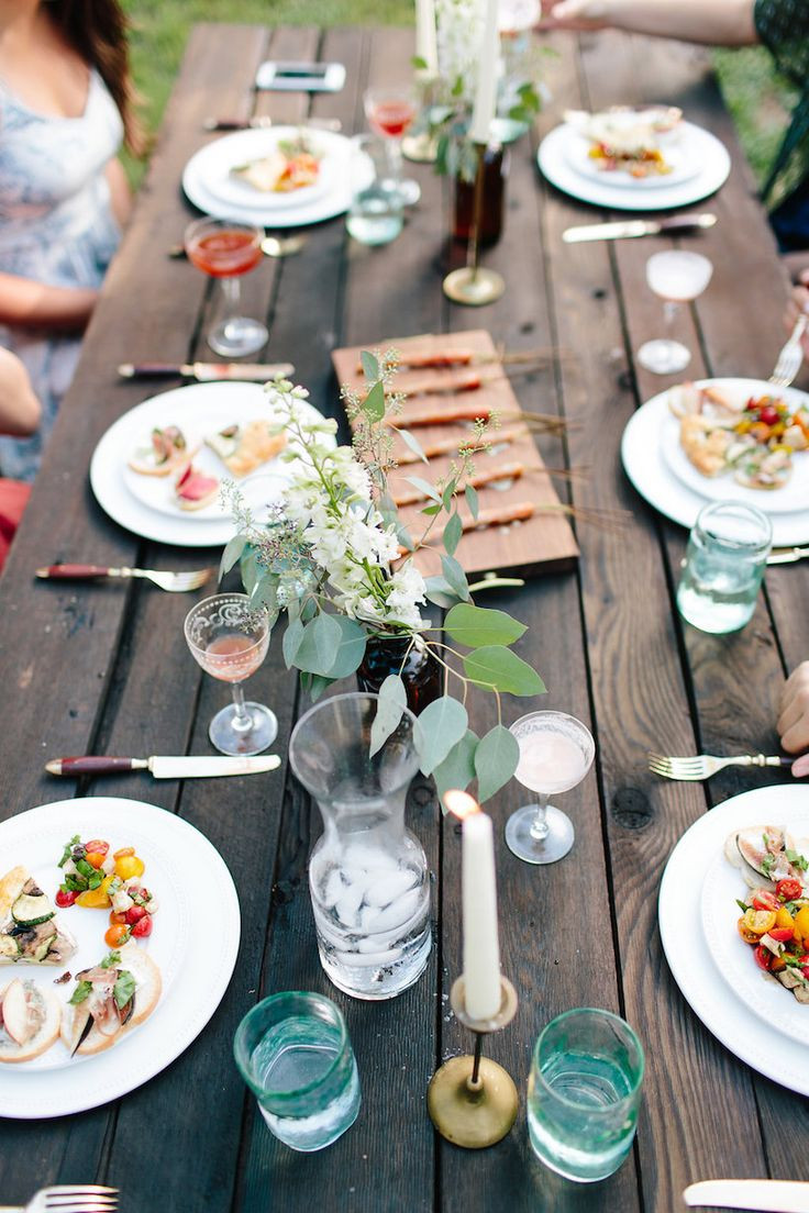 Summer Dinner Parties  25 best ideas about Summer dinner parties on Pinterest