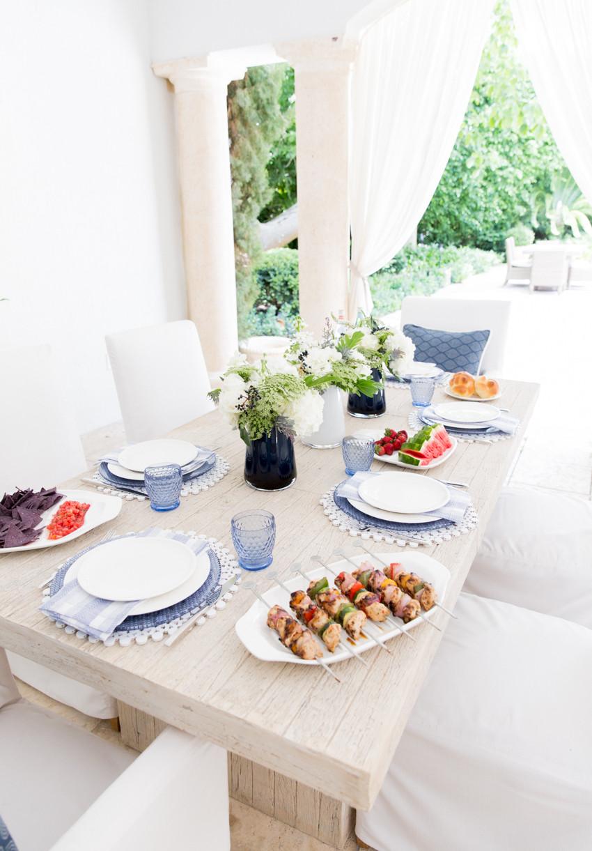Summer Dinner Party Ideas  Three Summer Dinner Party Ideas Fashionable Hostess