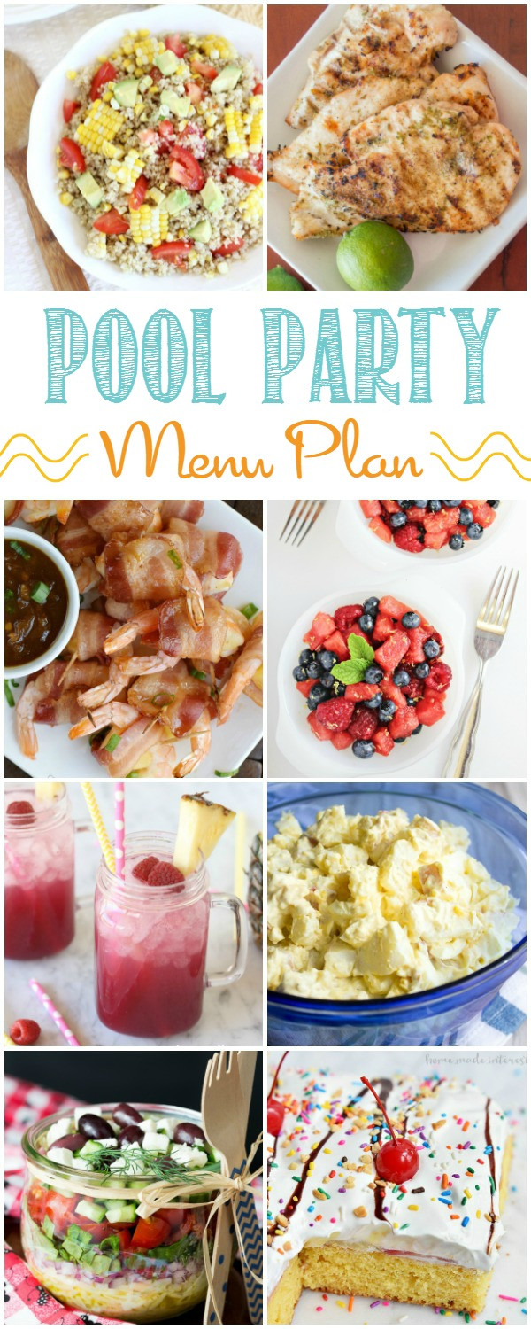 Summer Dinner Party Menu  12 Easy Summer Pool Party Menu Ideas Home Cooking Memories