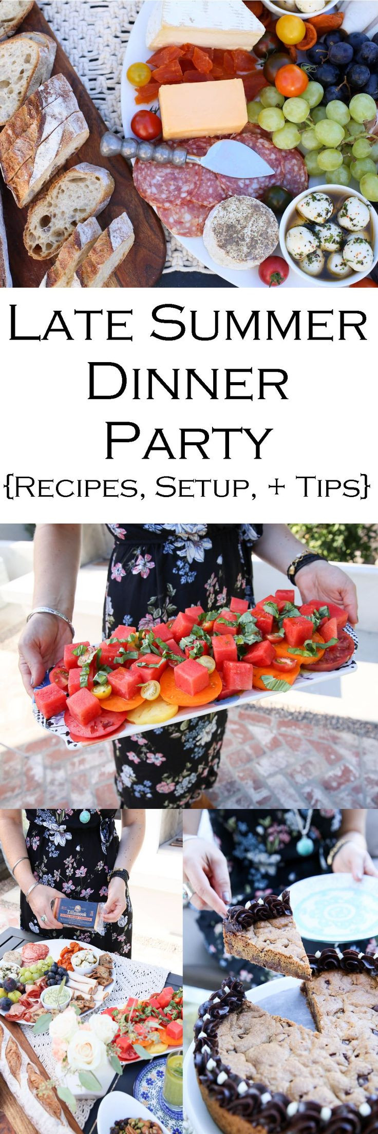 Summer Dinner Party Menu  Best 25 Summer dinner party menu ideas on Pinterest