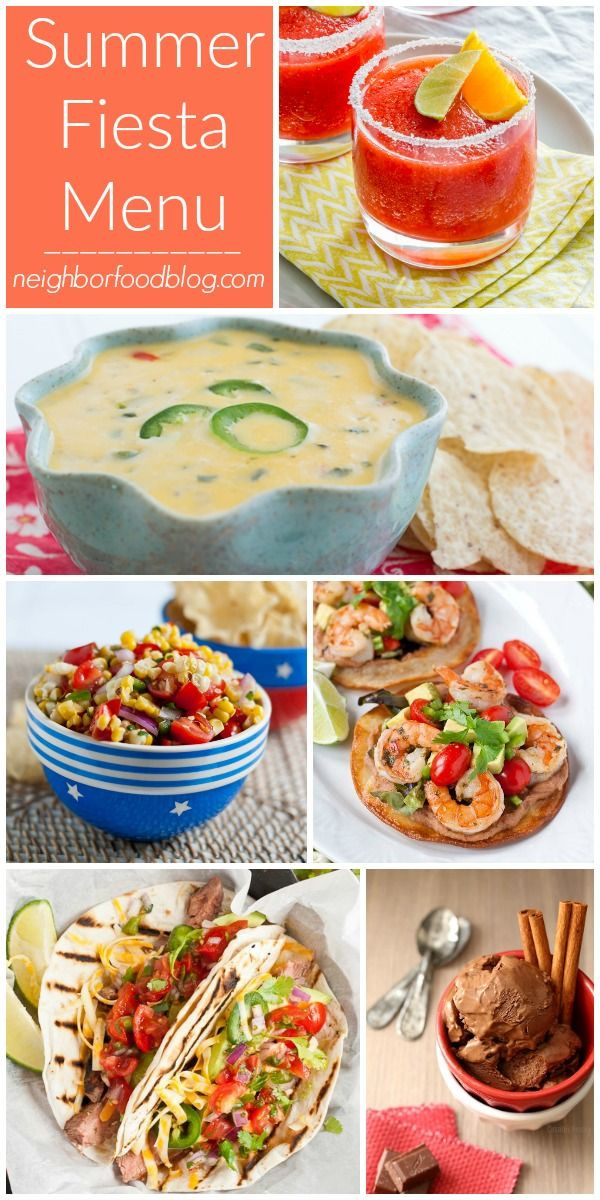 Summer Dinner Party Menu  The 25 best Summer dinner party menu ideas on Pinterest