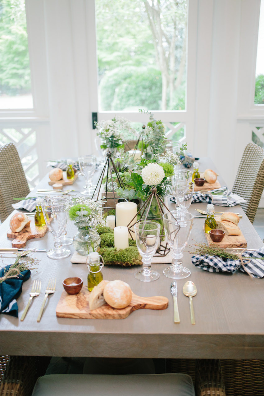 Summer Dinner Party  Host an Outdoor Dinner Party Fashionable Hostess