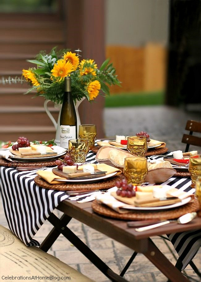 Summer Dinner Party  Wel e Fall with a Dinner Party Al Fresco Celebrations