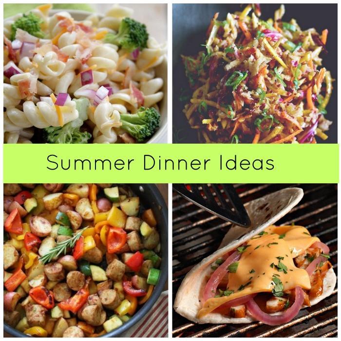 Summer Dinner Recipe  Five Summer Dinner Recipe Ideas FTM