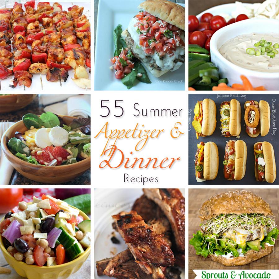 Summer Dinner Recipes  55 Summer Dinner Recipes Kleinworth & Co