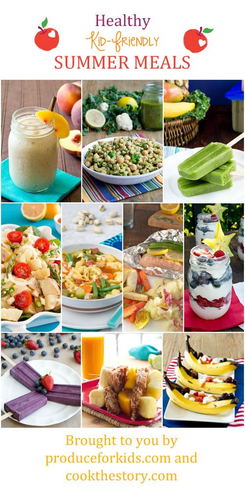 Summer Dinners For Kids  19 best images about Healthy Kids on Pinterest