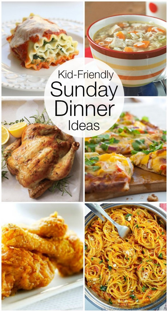Summer Dinners For Kids  Kid Friendly Sunday Night Dinner Ideas