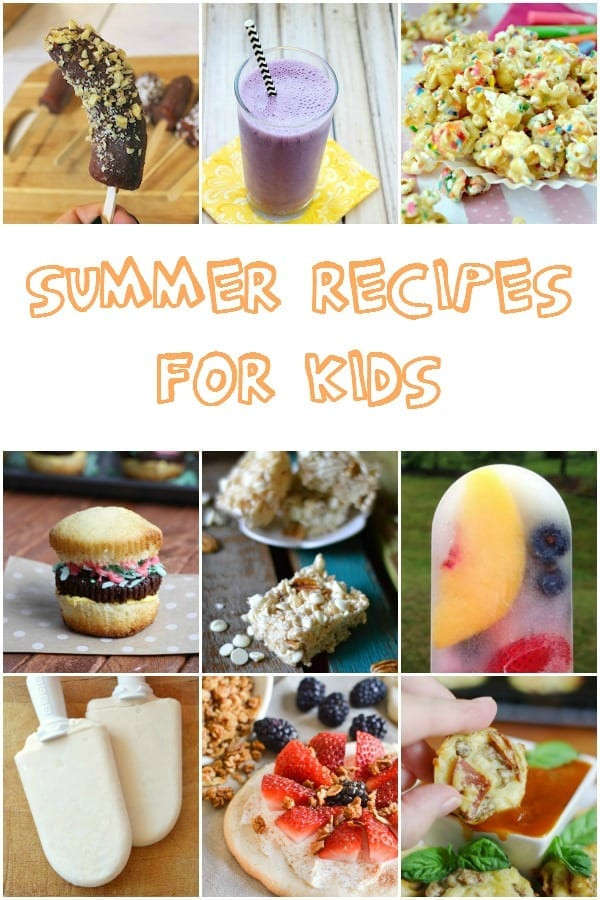 Summer Dinners For Kids  Summer Recipes for Kids mom makes dinner