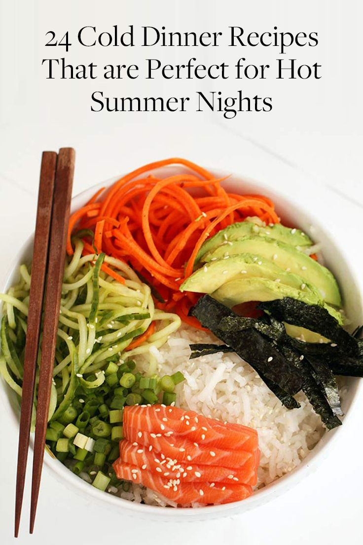 Summer Dinners For Two  Best 25 Cold summer dinners ideas on Pinterest