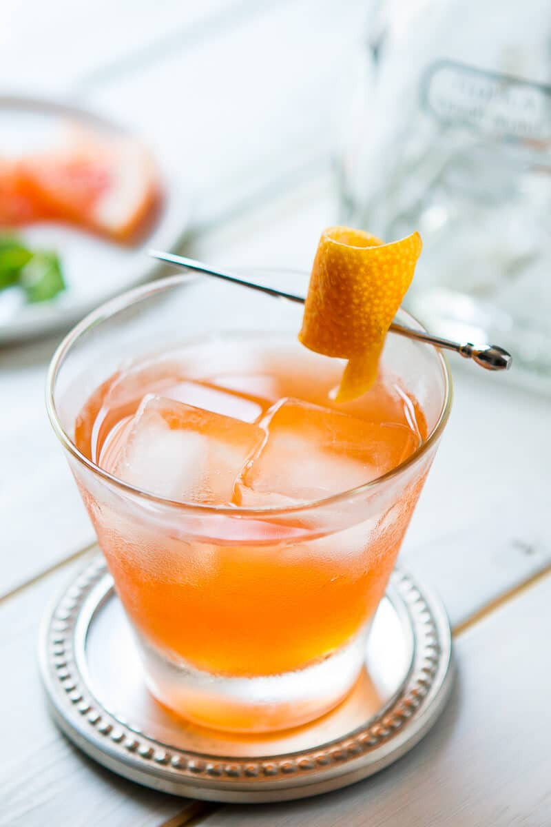 Summer Drinks With Tequila  Aperol Tequila Cocktail Part Time Lover