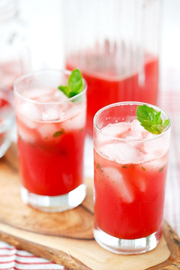 Summer Drinks With Tequila  Watermelon Tequila Cocktail
