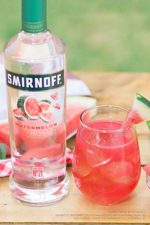 Summer Drinks With Vodka  Watermelon smash Recipe