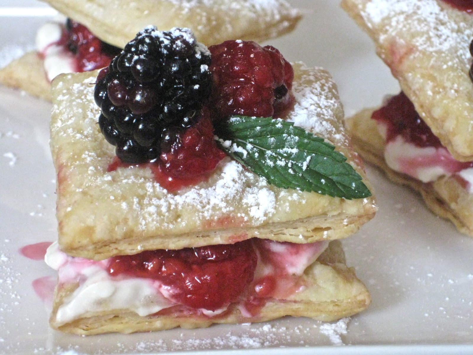 Summer Easy Desserts  Flavors of the Sun Puff Pastry and an Easy Summer Dessert