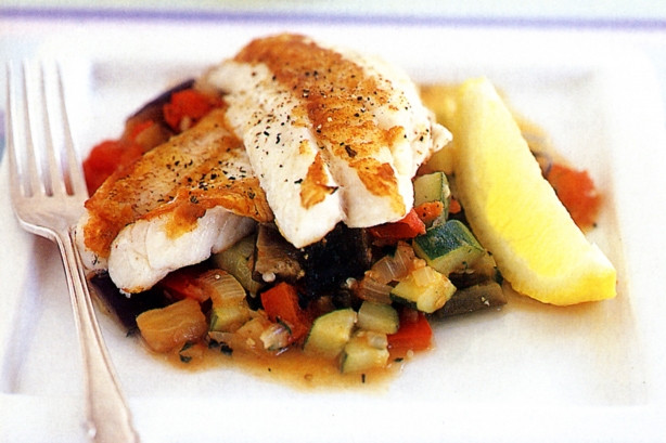 Summer Fish Recipes  Easy steps of healthy and t fish with ve ables dish