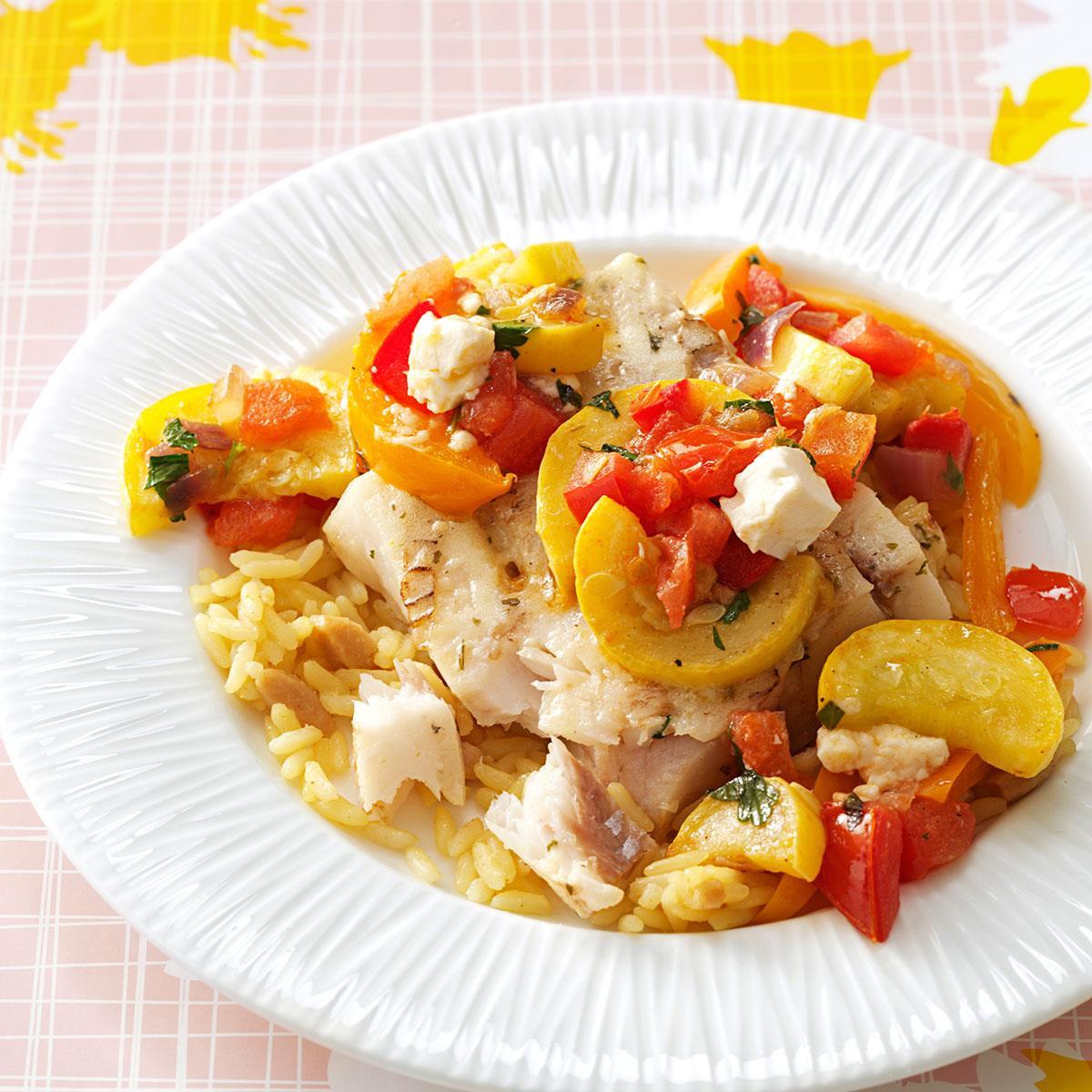 Summer Fish Recipes  Summer Fish Skillet Recipe