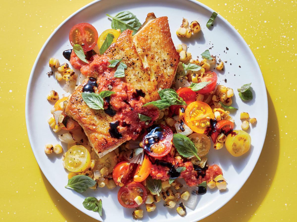 Summer Fish Recipes  5 Ingre nt Summer Recipes Cooking Light
