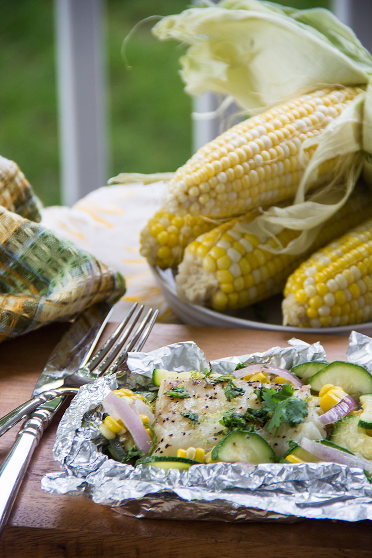 Summer Fish Recipes  Summer Grilled Coconut Lime White Fish Packets The