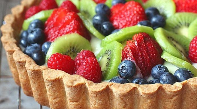 Summer Fruit Desserts Recipes  Summer Fruit Tart Recipe