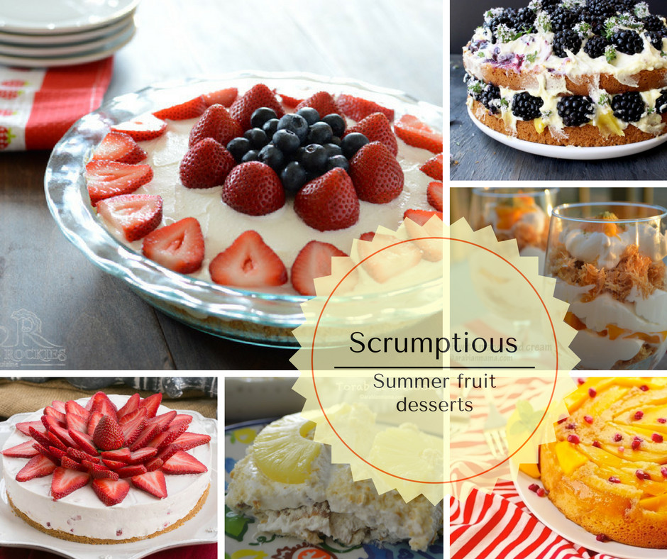 Summer Fruit Desserts Recipes  Summer fruit desserts recipes
