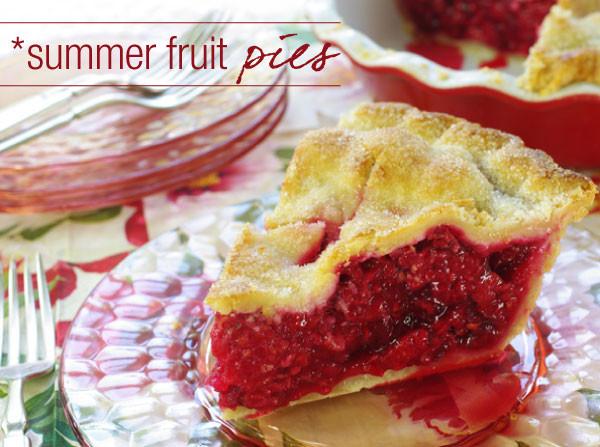 Summer Fruit Pies  Fruit Pies A Sweet Slice of Summer