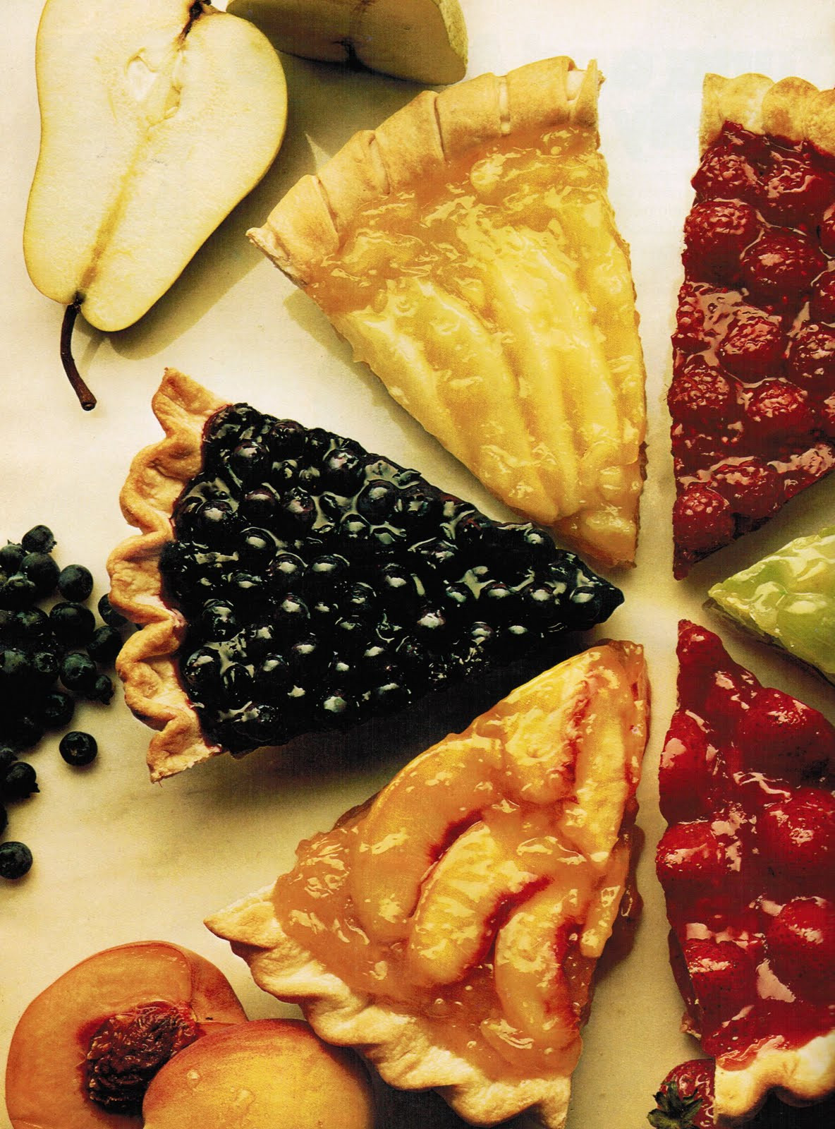 Summer Fruit Pies  Glazed Summer Fruit Pies The Culinary Cellar