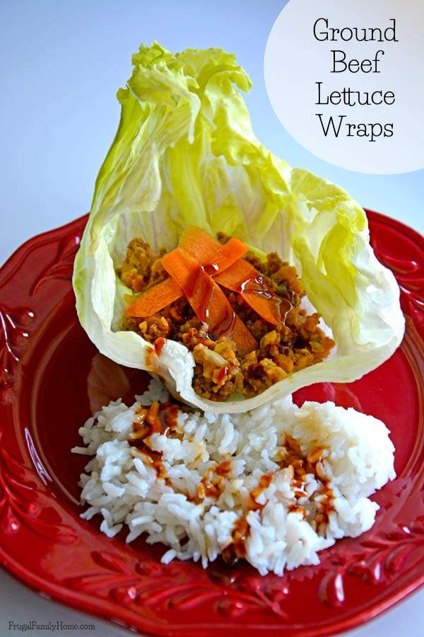 Summer Ground Beef Recipes  Ground Beef Lettuce Wraps