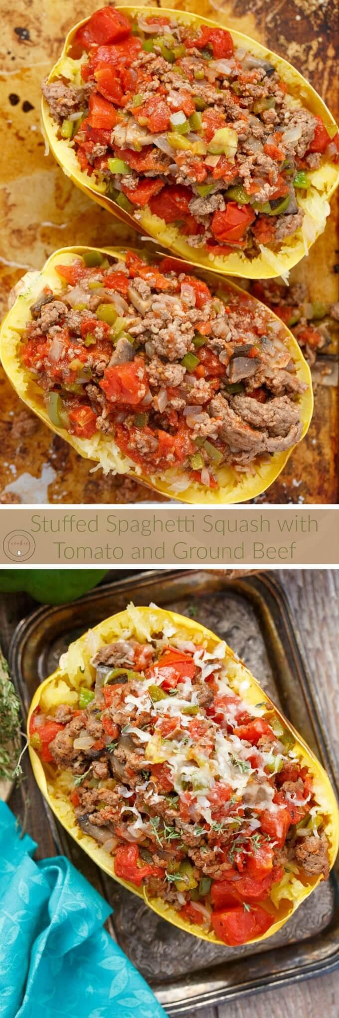 Summer Ground Beef Recipes  stuffed summer squash ground beef