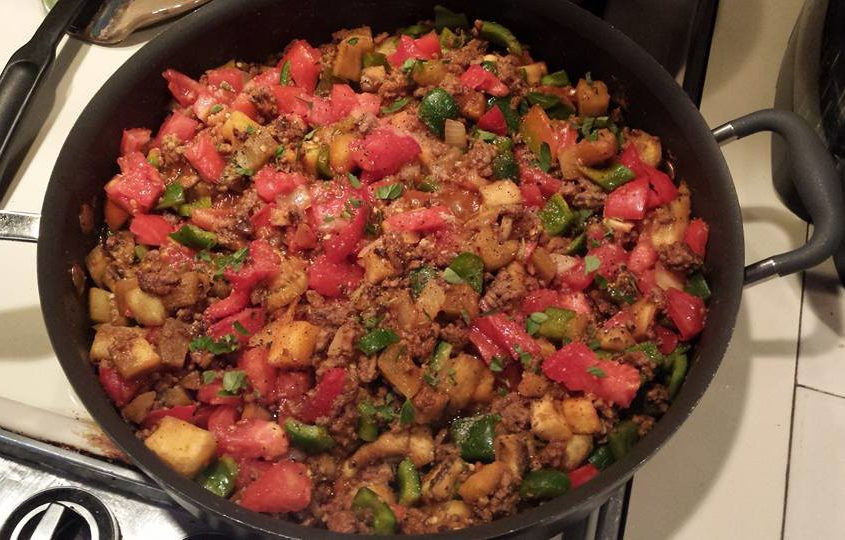 Summer Ground Beef Recipes  Ground Beef and Eggplant Skillet – A favorite eggplant