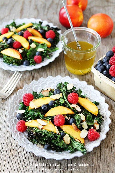 Summer Kale Salad Recipes  Grilled Kale Salad Recipe