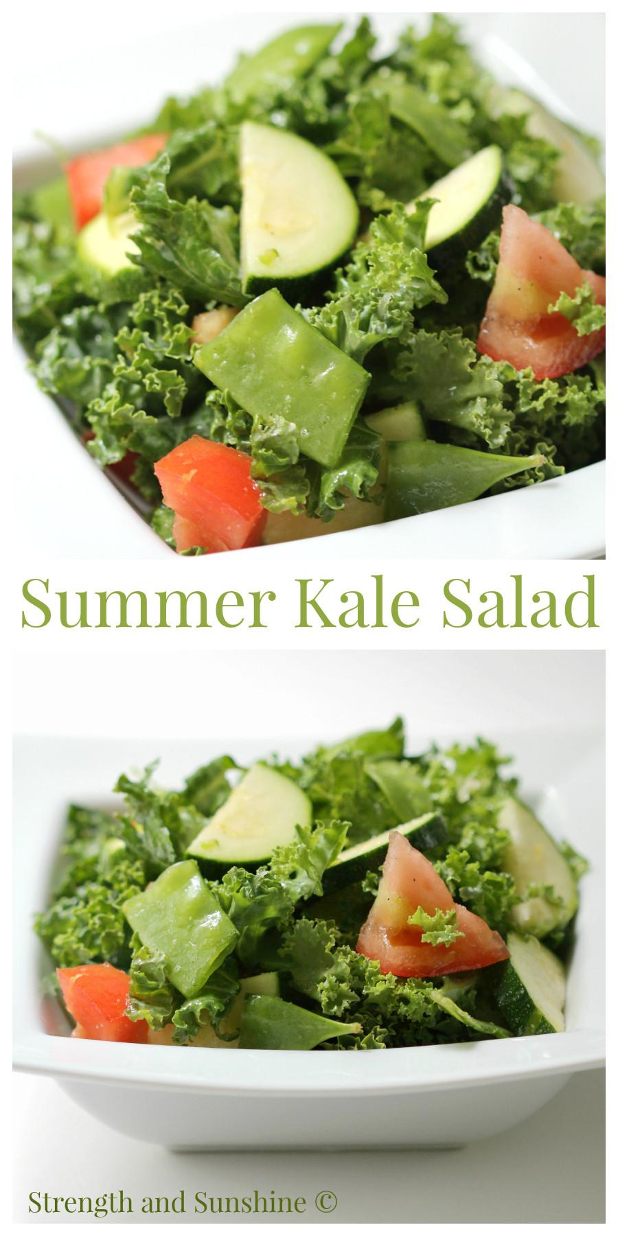 Summer Kale Salad Recipes  Summer Kale Salad