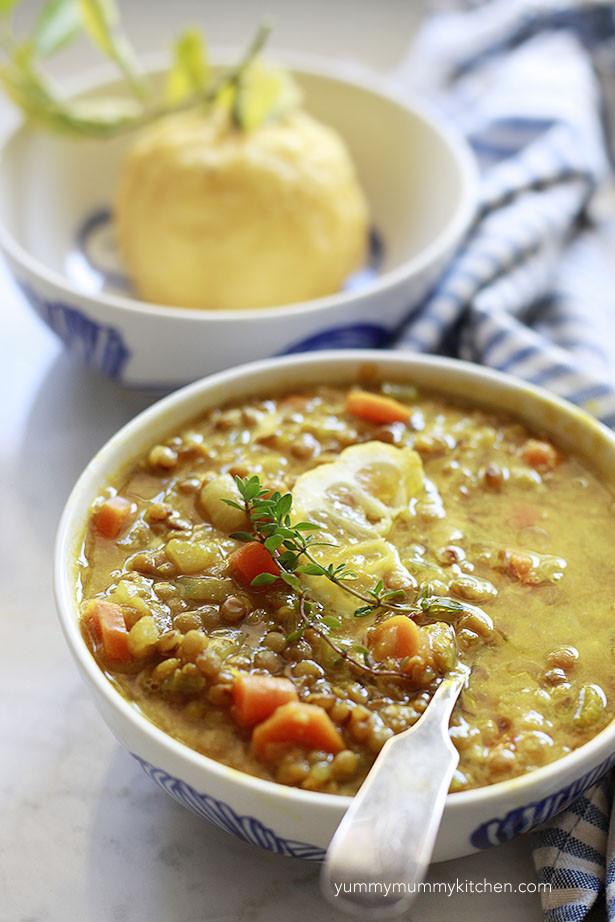 Summer Lentil Recipes  Yummy Mummy Kitchen Lemony Lentil Soup