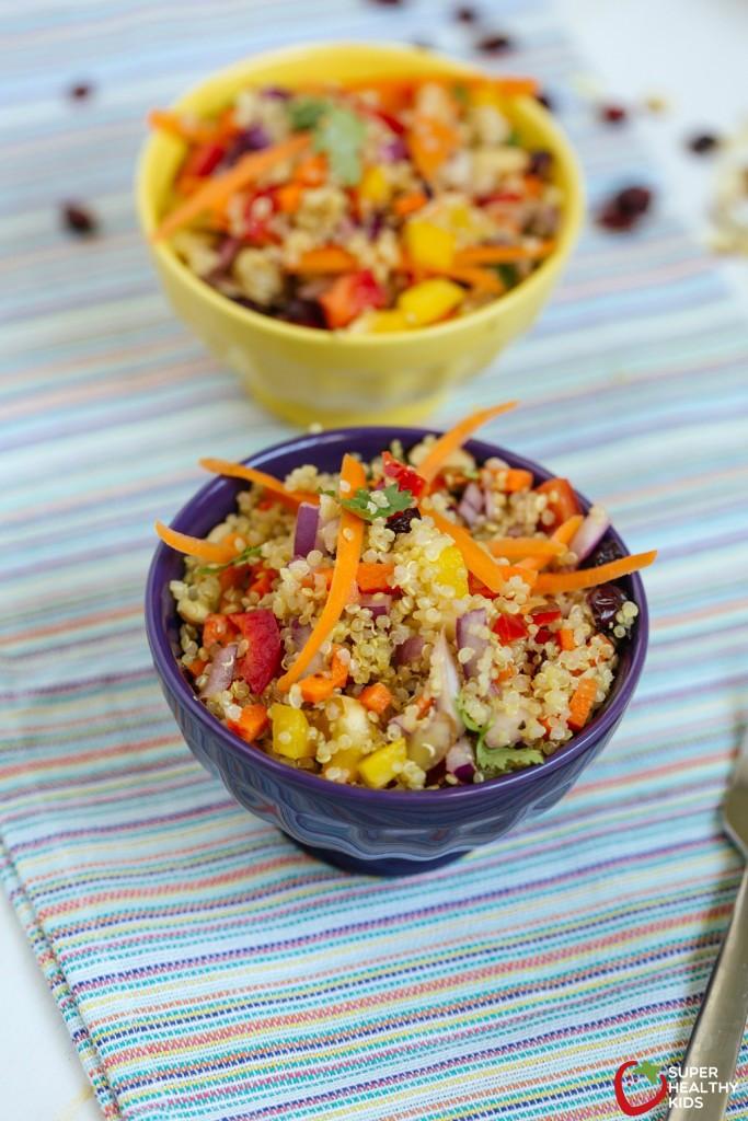Summer Main Dishes  Summer Quinoa Salad Recipe
