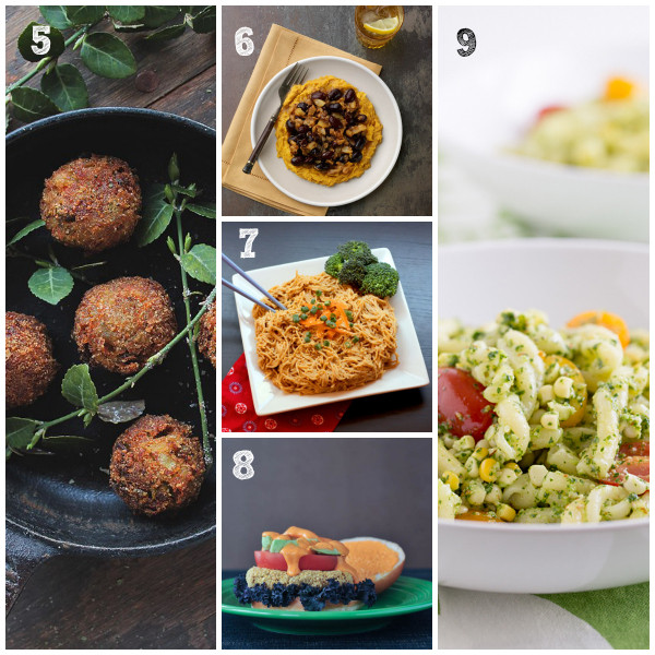 Summer Main Dishes  The Ultimate Vegan Summer Recipes